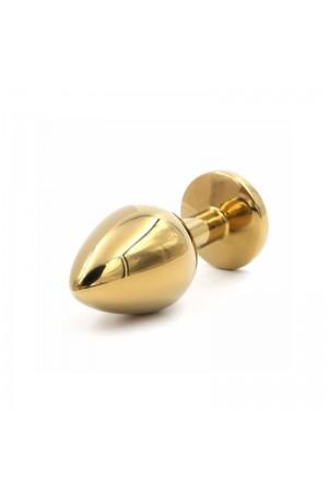 Altın Kaplama Swarovski Taşlı 9 cm Anal Plug