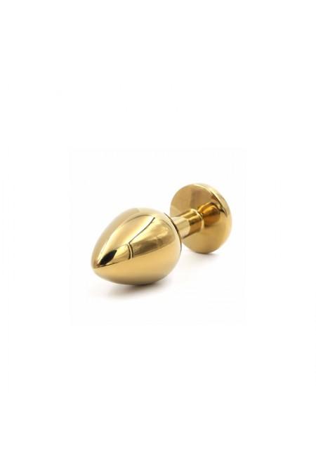 Altın Kaplama Swarovski Taşlı 7 cm Anal Plug