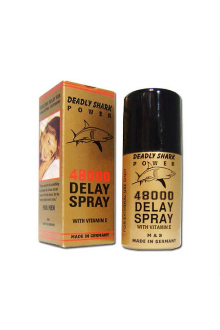 Deadly Shark 48000 Delay Spray