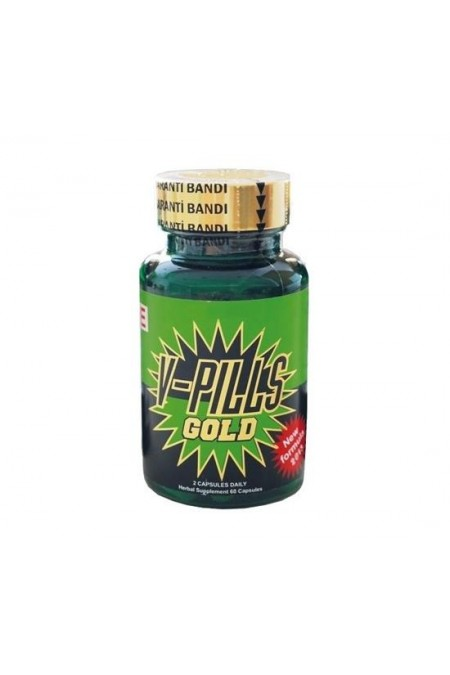 V-Pills Gold Bitkisel Kapsül