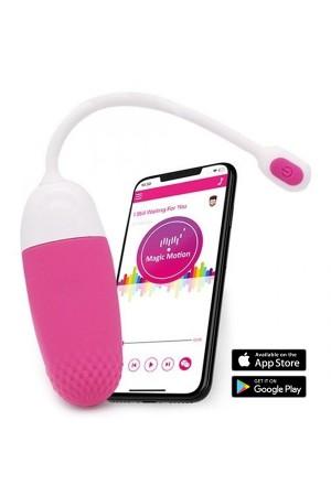 Akıllı Telefon Uyumlu Kordonlu Yumurta Vibratör